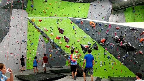 Spooky Nook Climbing Gym Boulder